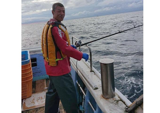 礼文島沖釣り