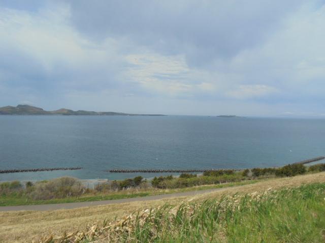 トド島を望む